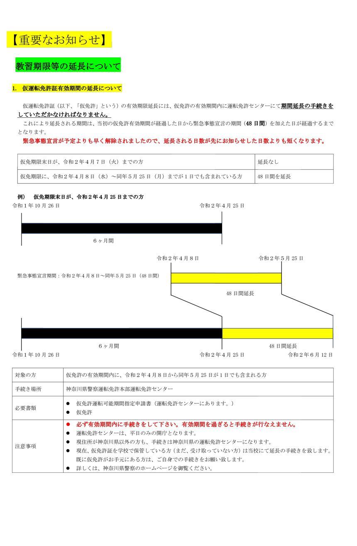 神奈川 緊急 事態 宣言